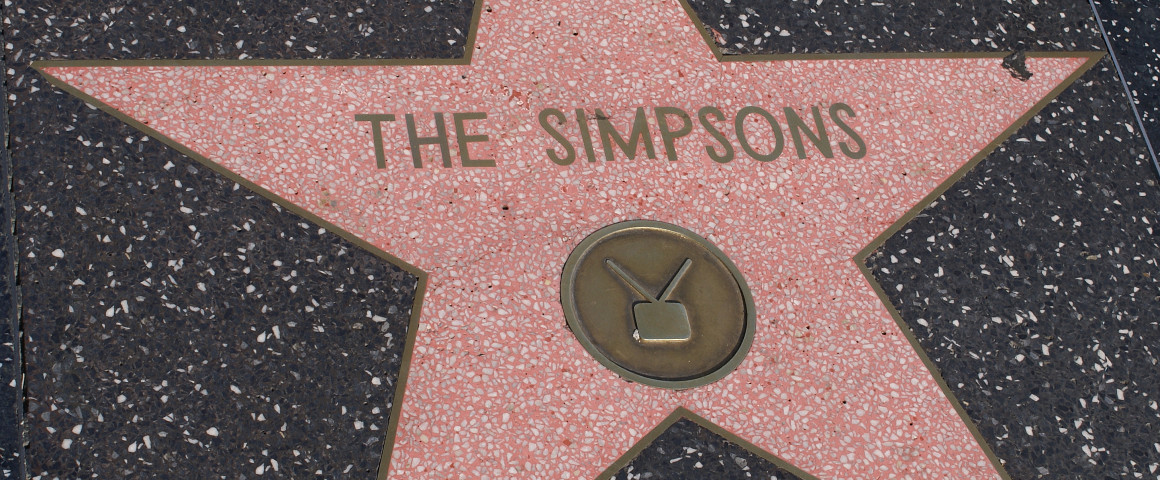 The_Simpsons_star
