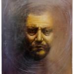 13. Pluralità, cm 40x34x10, resina e olio su tavola, 2016